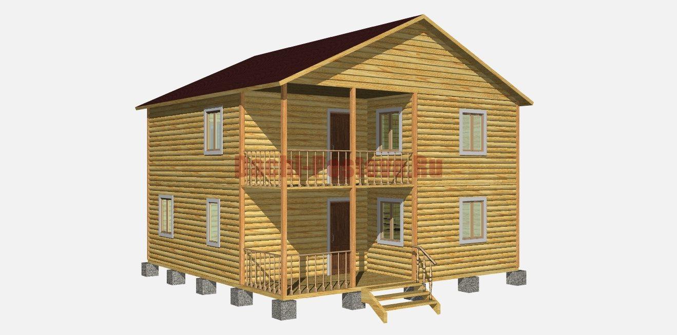 Брусовой дом 28 ск семейное гнездо - дома из бруса, бани из .