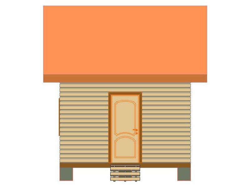 Брусовой дом №178 - Фото 2