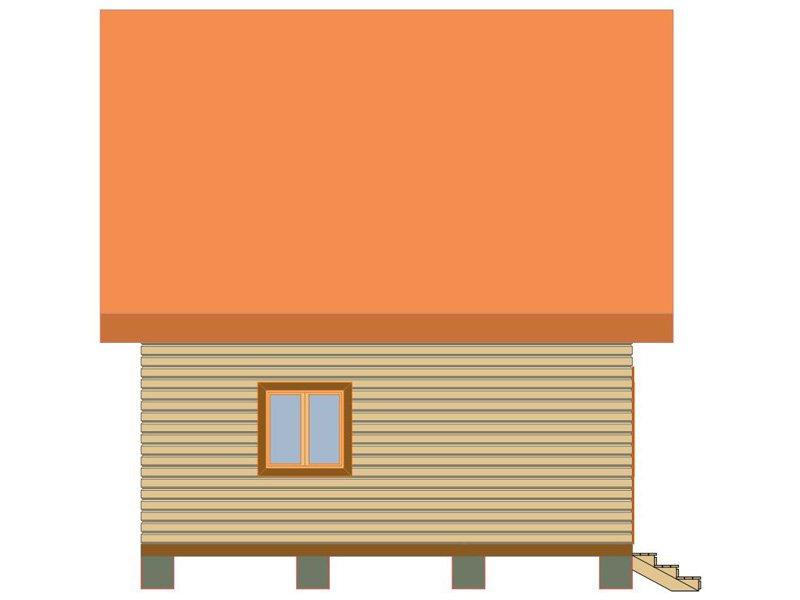 Брусовой дом №179 - Фото 3
