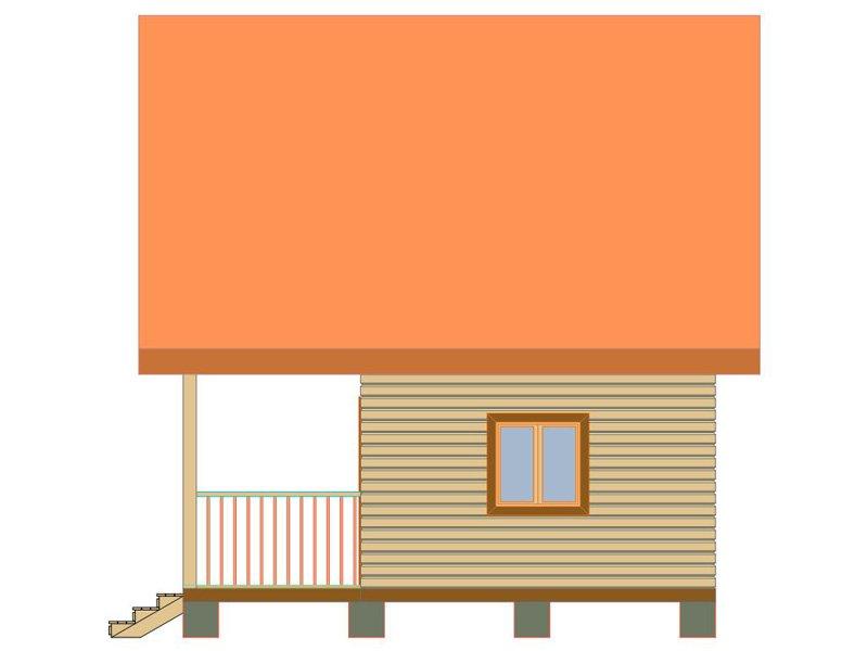 Брусовой дом №181 - Фото 2