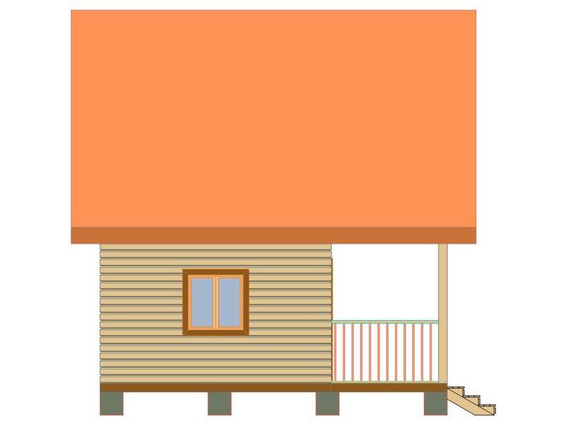 Брусовой дом №181 - Фото 4
