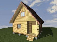 Брусовой дом №183
