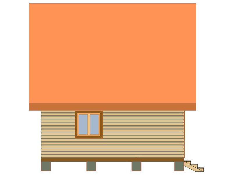 Брусовой дом №184 - Фото 3