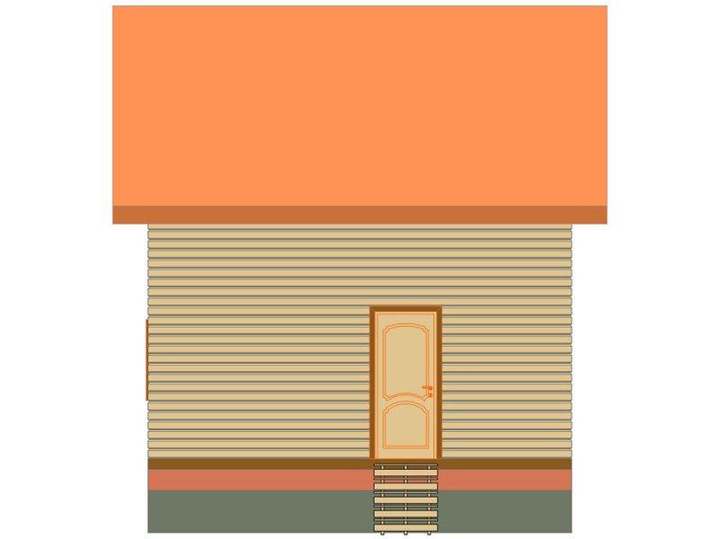 Дом из бруса №191 - Фото 2