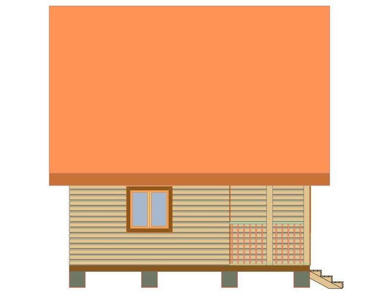 Брусовой дом №186 - Фото 3