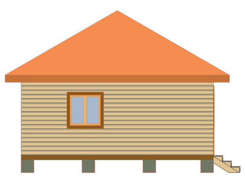 Брусовой дом №188 - Фото 3