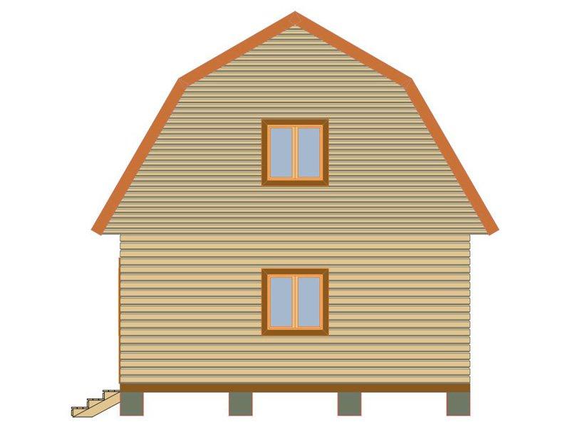 Брусовой дом №185 - Фото 2