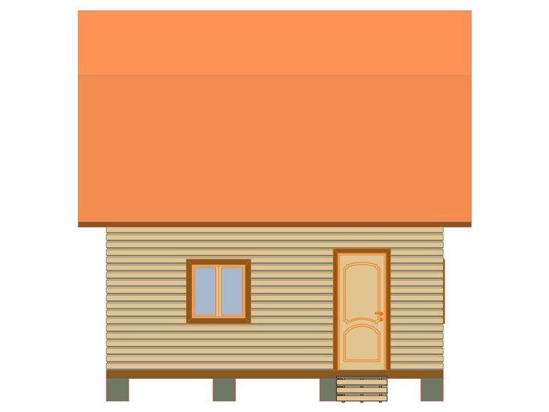 Брусовой дом №185 - Фото 3