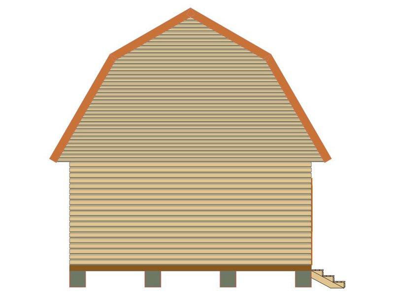 Брусовой дом №185 - Фото 4