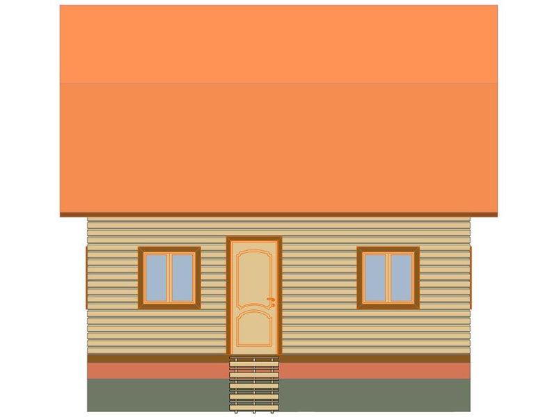 Брусовой дом №189 - Фото 2
