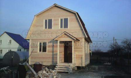 Брусовой дом №168 - Фото 3
