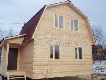 Брусовой дом №171 - Фото 3