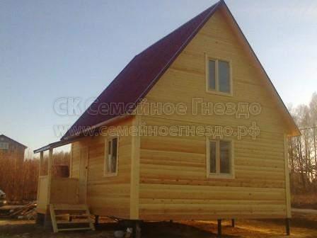 Брусовой дом №174 - Фото 3