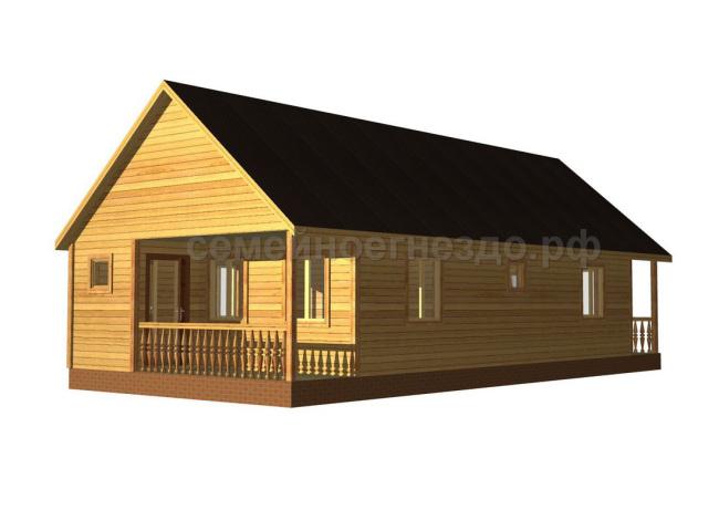 Брусовой дом №11