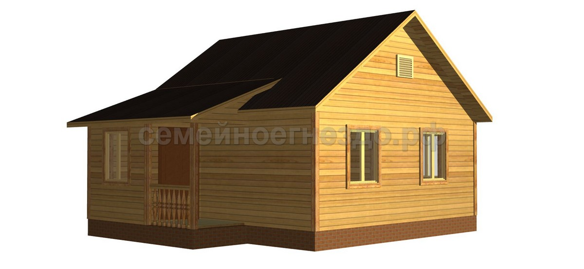 Брусовой дом №2 - Фото 2