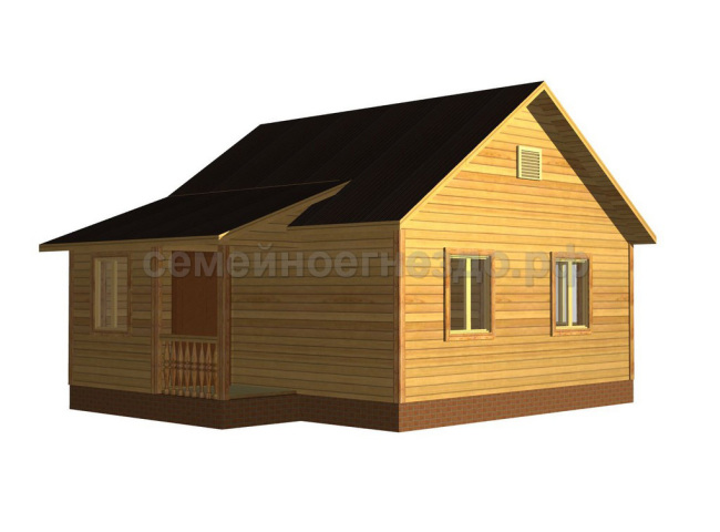 Брусовой дом №2