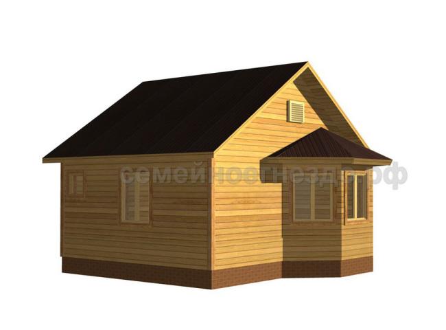 Брусовой дом №1