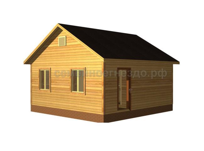 Брусовой дом №3