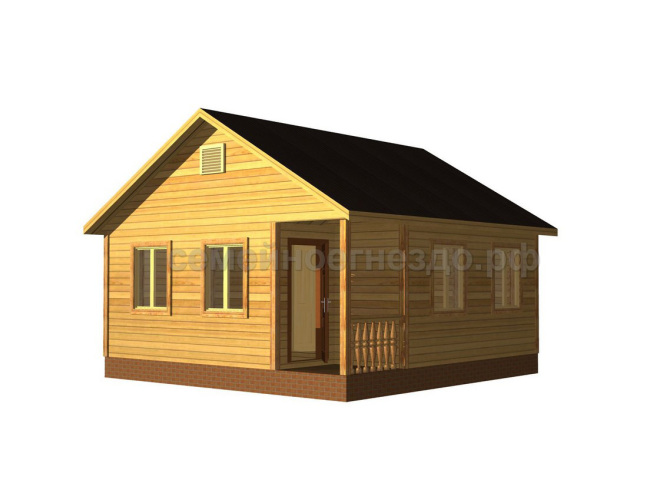 Брусовой дом №4