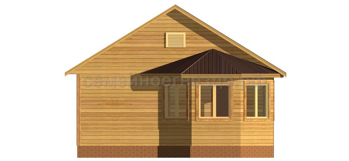 Брусовой дом №1 - Фото 3