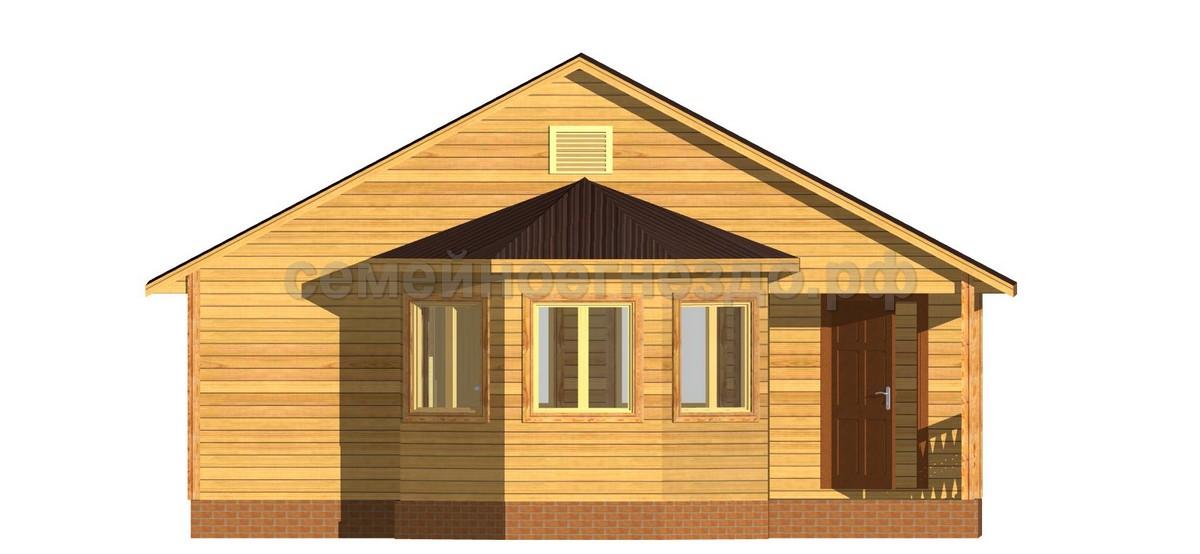 Брусовой дом №10 - Фото 2