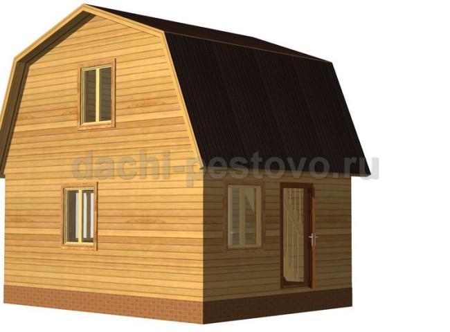 Брусовой дом №14