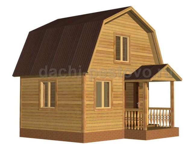 Брусовой дом №15
