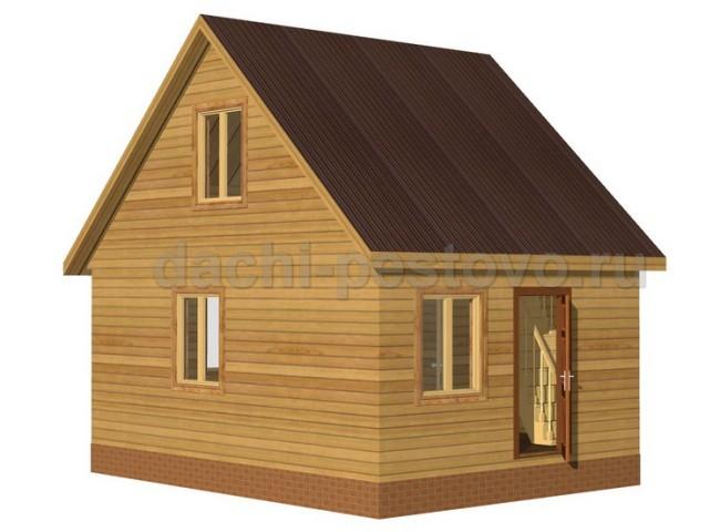 Брусовой дом №16