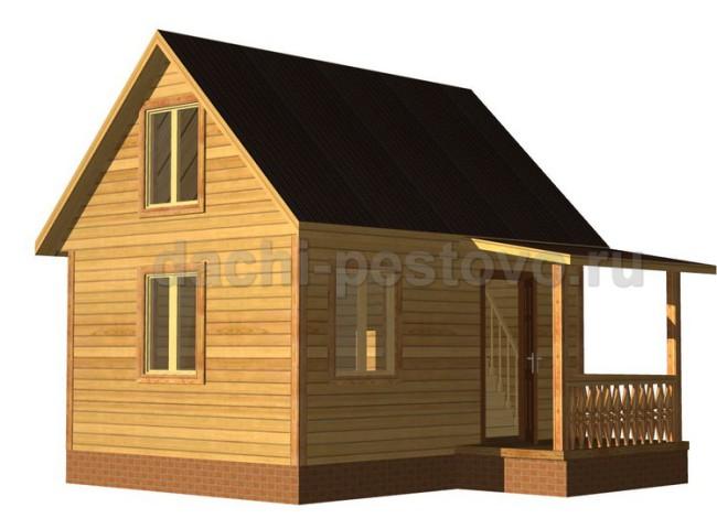 Брусовой дом №17