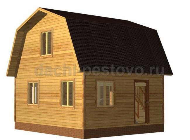 Брусовой дом №20