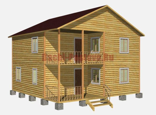 Каркасный дом №28