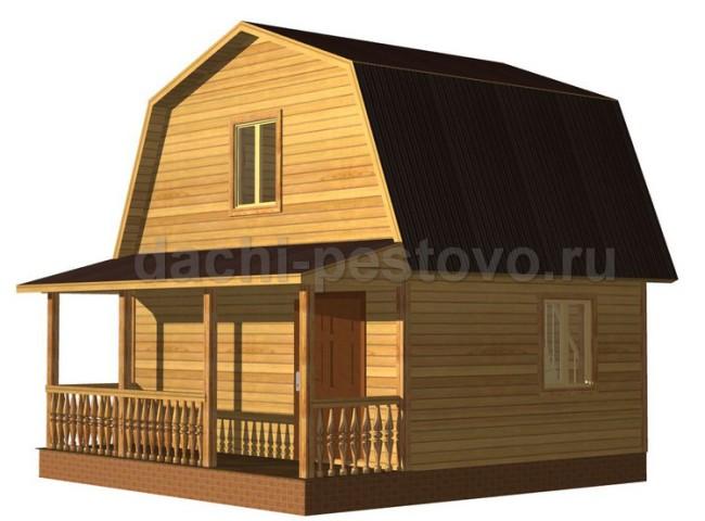 Брусовой дом №21