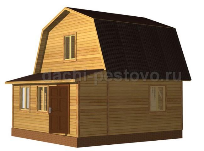 Брусовой дом №23