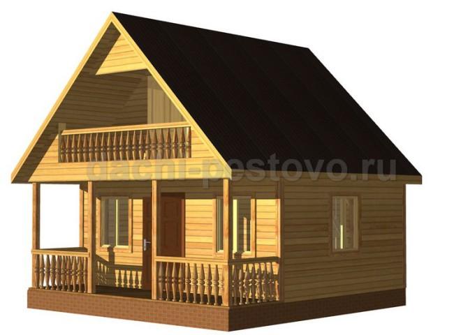 Брусовой дом №24