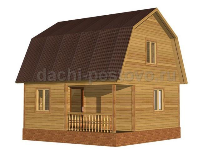 Брусовой дом №25