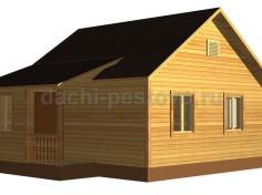 Каркасный дом №2