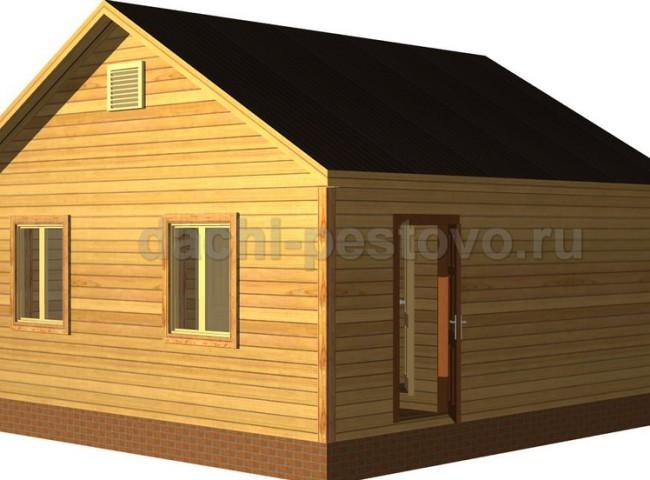 Каркасный дом №3
