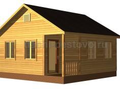Каркасный дом №4