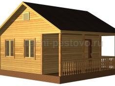 Каркасный дом №5