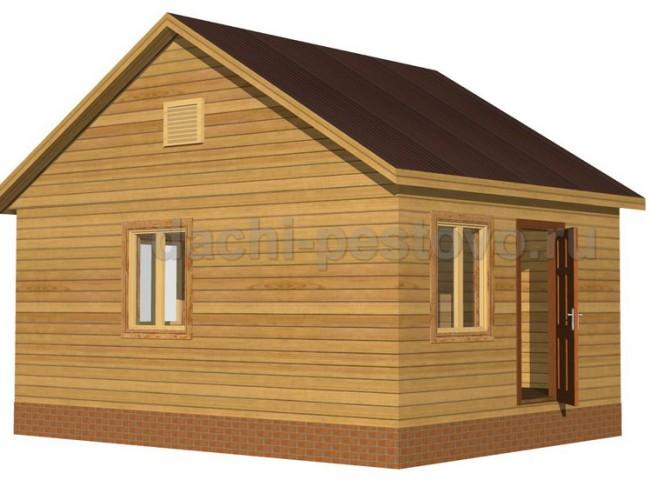 Каркасный дом №6