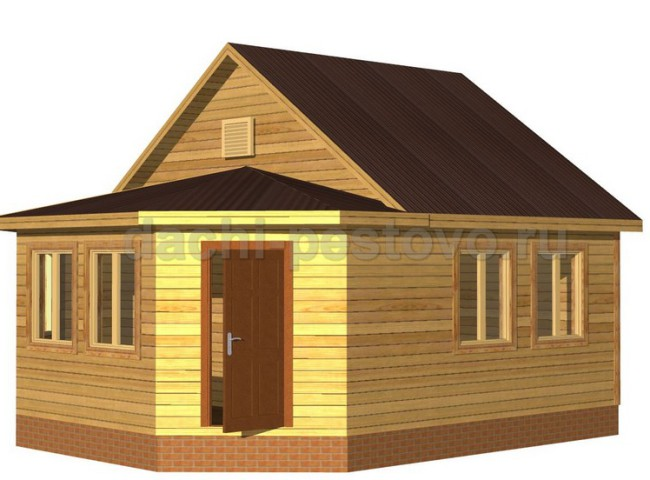 Каркасный дом №8