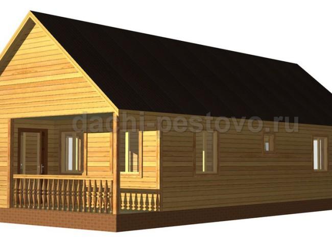 Каркасный дом №11