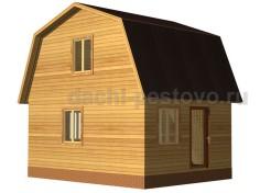 Каркасный дом №14