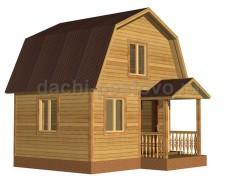 Каркасный дом №15