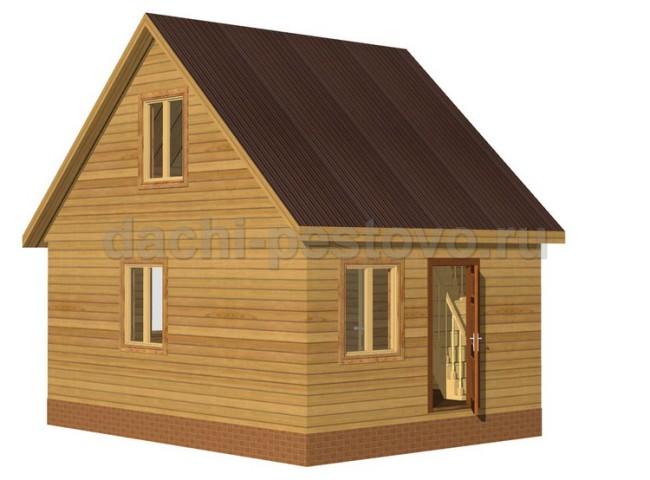 Каркасный дом №16