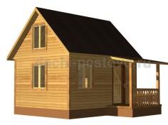 Каркасный дом №17