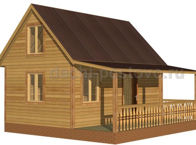 Каркасный дом №18