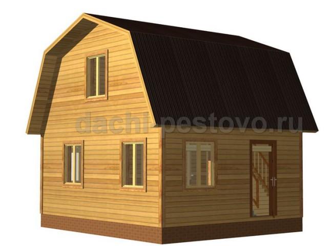Каркасный дом №20