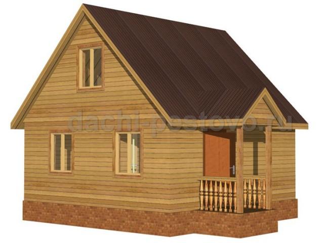 Каркасный дом №22