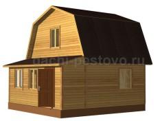 Каркасный дом №23